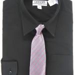 Gioberti DS 85 Boys Long Sleeve Dress Shirt & Pattern Tie Set ... , 6 Boys Long Sleeve Black Dress Shirt In Fashion Category