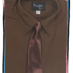Fouger Boys Long Sleeve Dress Shirt & Tie - PuddlesCollection.com , 8 Boys Long Sleeve Black Dress Shirt In Fashion Category