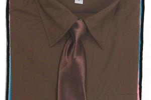 Fashion , 8 Boys Long Sleeve Black Dress Shirt : Fouger Boys Long Sleeve Dress Shirt & Tie - PuddlesCollection.com