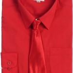 Gioberti Boys Long Sleeve Dress Shirt & Solid Tie   PuddlesCollection ... , 6 Boys Long Sleeve Black Dress Shirt In Fashion Category