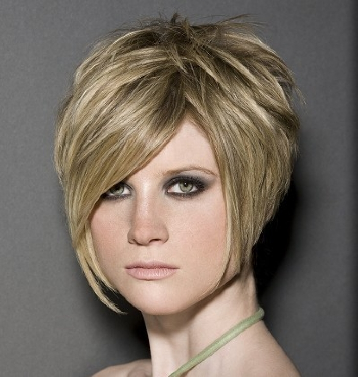 7 Cute Hort Stacked Hairstyles in Hair Style