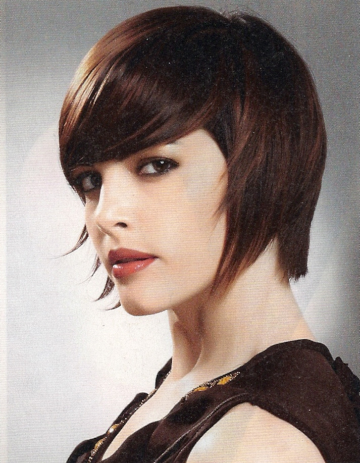 Hair Style , 8 Beautiful Short Feathered Hairstyles : Best Medium Hairstyle
