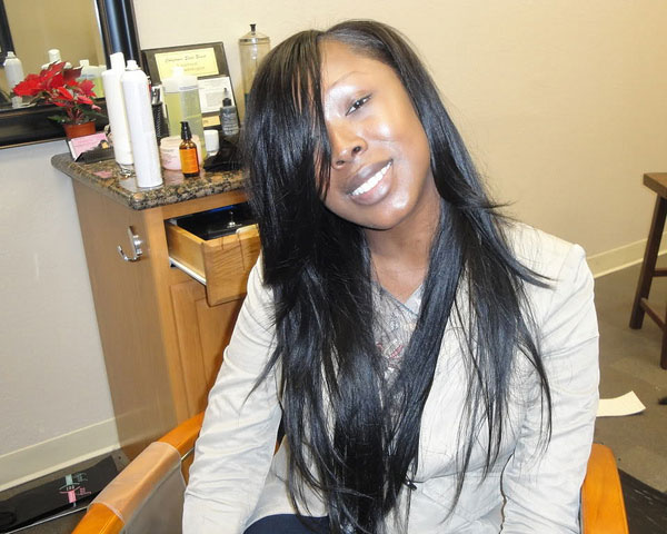 Hair Style , 7 Excellent Long Hair Weave Styles : Black Weave Hairstyles