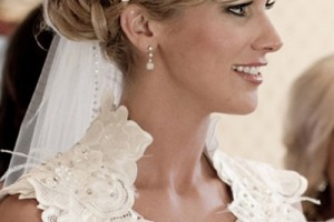 Hair Style , 7 Gorgeous Long Hair Wedding Styles With Veil : Bridal Hairstyles for Long