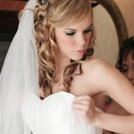 Cool Easy Hairstyles , 7 Gorgeous Long Hair Wedding Styles With Veil In Hair Style Category