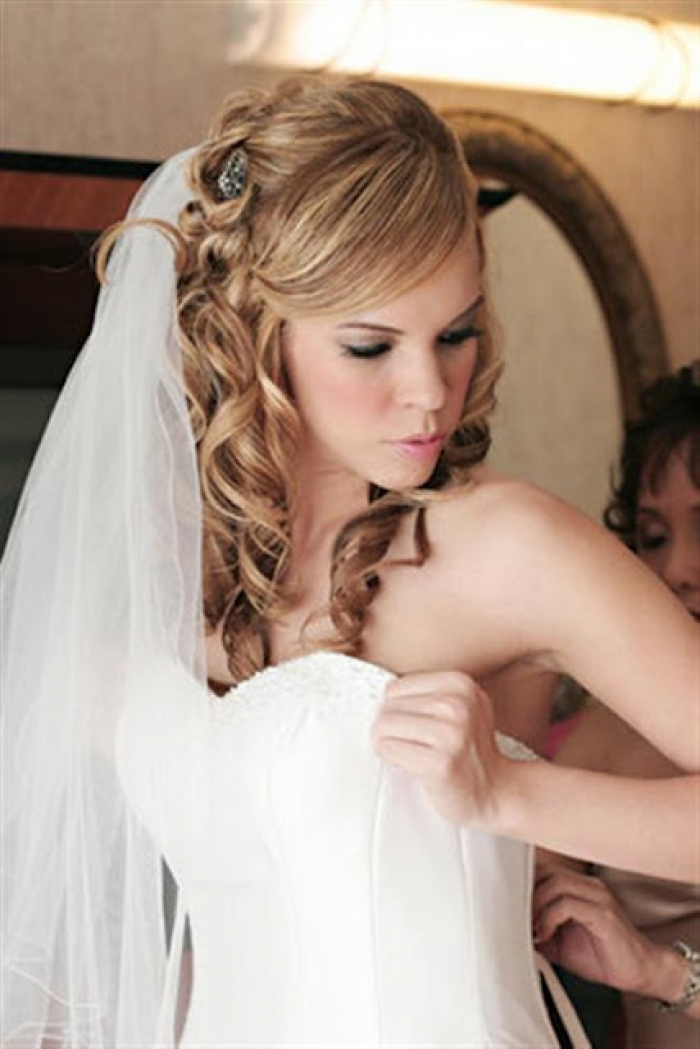 Cool Easy Hairstyles : 7 Gorgeous Long Hair Wedding Styles With ...