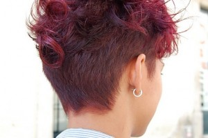 Hair Style , 8 Cool Short And Sassy Hairstyles : Curly Red Hairstyle