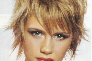 Hair Style , 9 Cute Short Textured Hairstyles : Cute Short Textured Shag Hairstyle