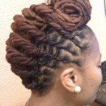 Loc Natural Hairstyles , 7 Charming Loc Styles For Long Hair In Hair Style Category
