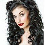 Long Curly Black Hair Style , 7 Unique Long Hair Curled Styles In Hair Style Category
