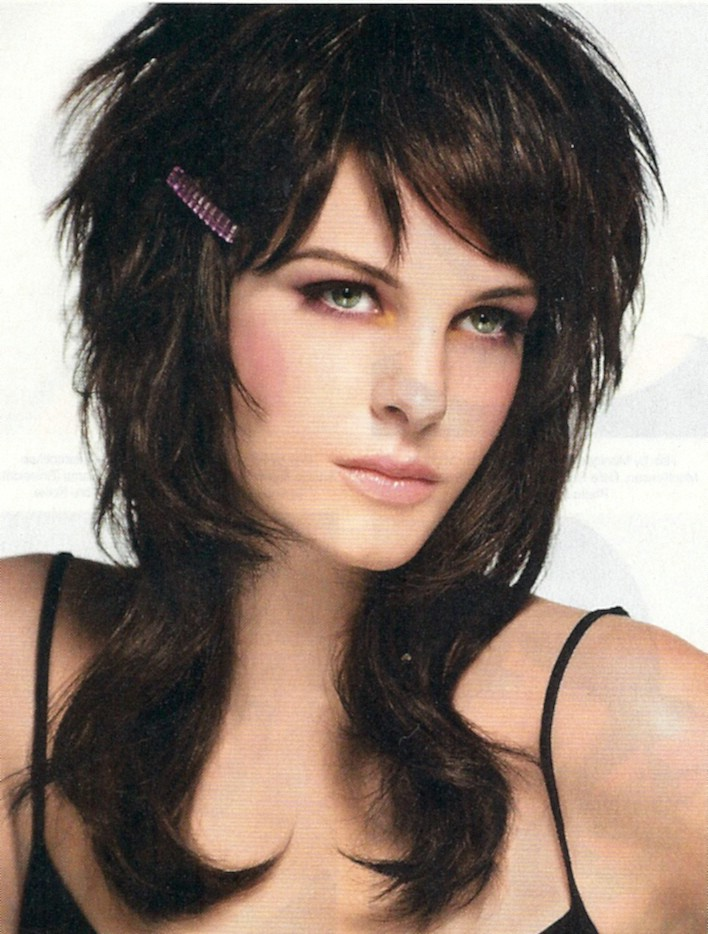 6 Fabulous long shag hair style : Woman Fashion - NicePriceSell.com