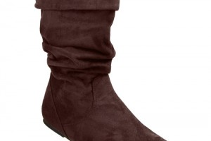 Shoes , 6 Nice Wide Width Womans Shoes : Microsuede Wide Width Boots
