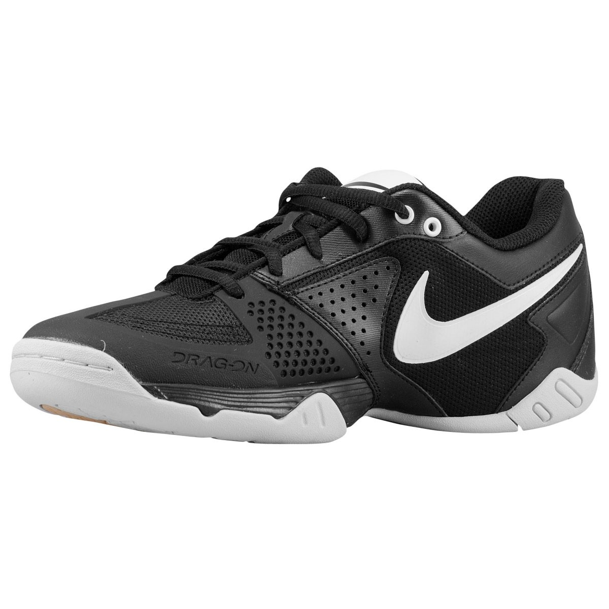 black and white volleyball shoes