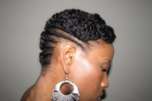 500x374px 7 Cool Protective Hairstyles For Short Natural Hair Picture in Hair Style