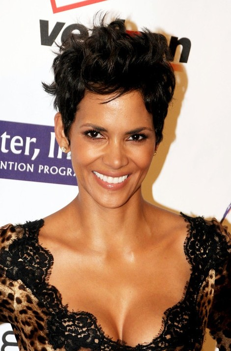 Remarkable Short African American Hairstyles 8 Cool Halle Berry Short Hairstyles For Women Draintrainus