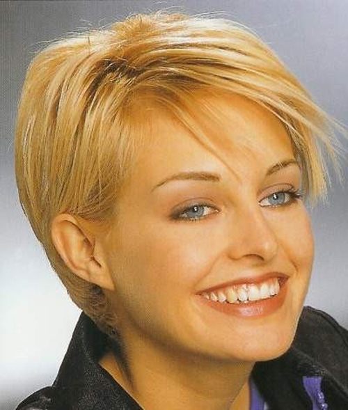 8 Beautiful Short Hairstyles For Thin Hair 2012 in Hair Style