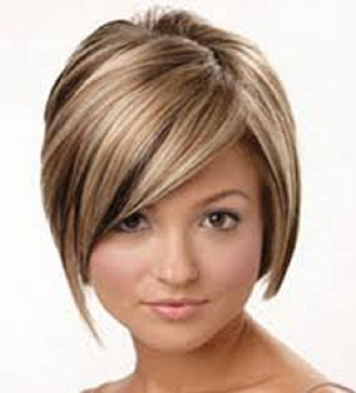 Hair Style , 8 Beautiful Short Hairstyles For Round Faces And Thin Hair : Short Hairstyles For Thin Hair 2013