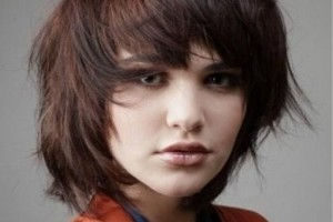 Hair Style , 8 Nice Short Hairstyles For Oval Faces : Short Layered Hairstyles
