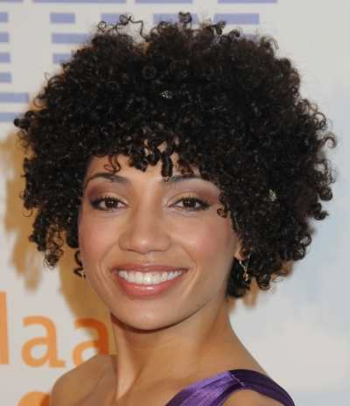 Short Natural Curly Hairstyles Woman Fashion Nicepricesell