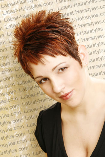 Short Spiky Hairstyle : 8 Cool Short Spikey Hairstyles | Woman ...