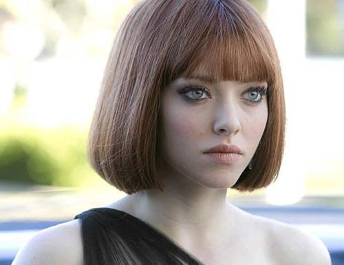 Short Straight Hair : Woman Fashion