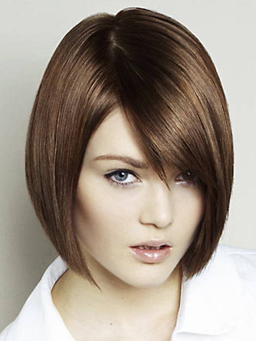 Short Straight Haircut For Women : 7 Lovely Short Hairstyles For ...