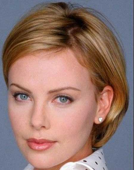 Short Straight Hairstyles : 7 Lovely Short Hairstyles For Fine ...