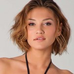 Short Wavy Hairstyles , 6 Best Short Hairstyles For Round Faces And Thick Hair In Hair Style Category