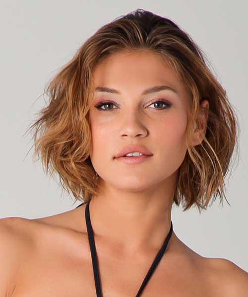 Short Wavy Hairstyles Woman Fashion Nicepricesell Com