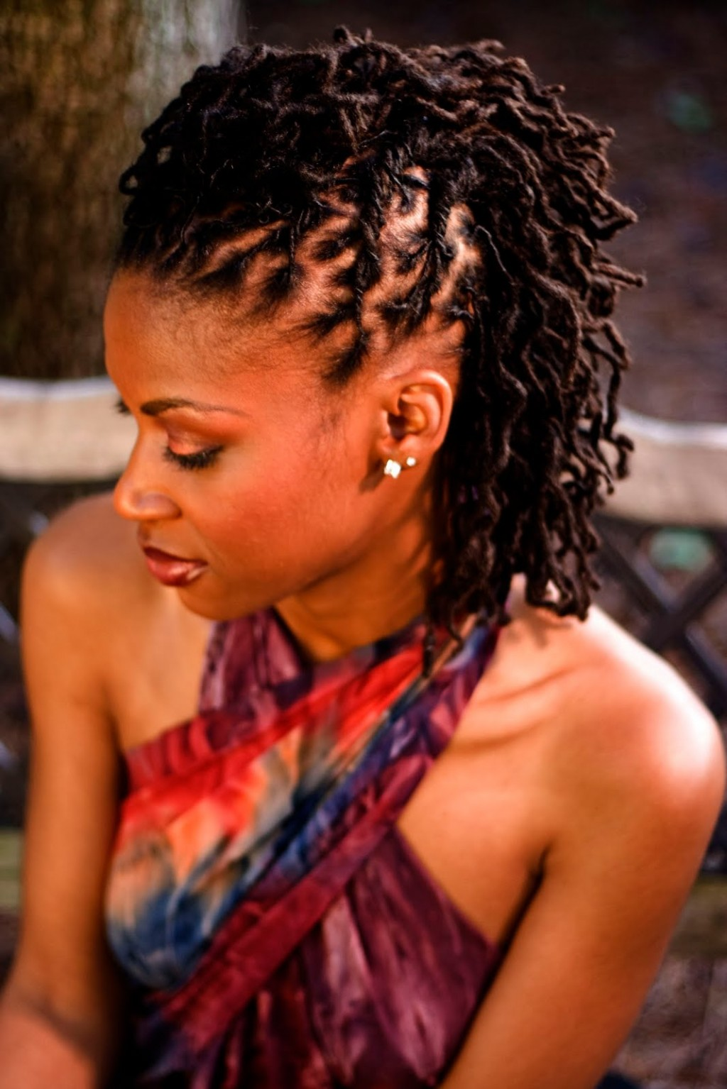 7 Charming Loc Styles For Long Hair in Hair Style