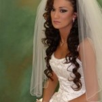 Wedding Hairstyle Long Curly , 5 Top Wedding Veil Styles With Long Hair In Hair Style Category