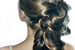500x700px 4 Lovely Bridal Hair Styles For Long Hair Picture in Hair Style
