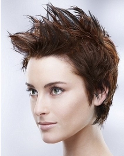 Women Spiky Short Hairstyle : 8 Cool Short Spikey Hairstyles ...
