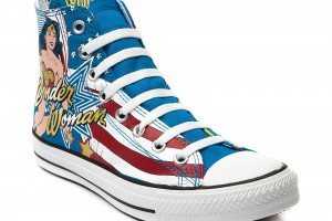 Shoes , 8 Cool Wonder Woman Converse Shoes : Wonder Woman Converse All Star