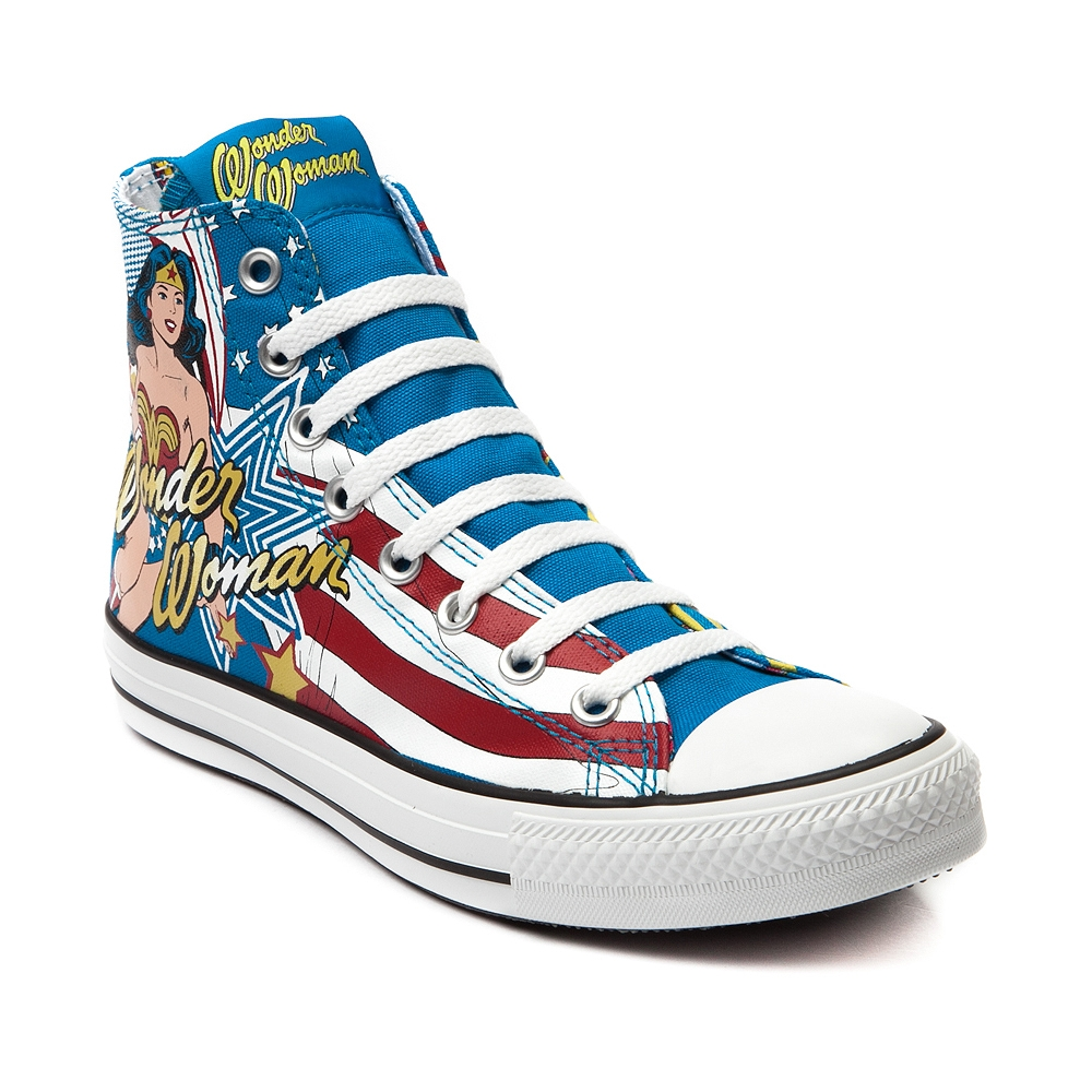 8 Cool Wonder Woman Converse Shoes in Shoes