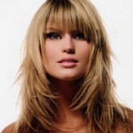 best hairstyles for long hair 2013 , 7 Beautiful Haircut Styles For Long Hair With Side Bangs In Hair Style Category