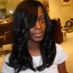 curled long black hairstyles , 7 Wonderful Long Hair Weave Styles For Black Women In Hair Style Category