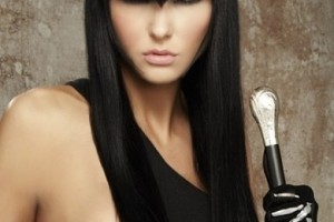 Hair Style , 7 Fabulous Edgy Long Hair Styles : edgy bangs long hairstyle