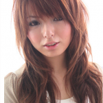 hair coloring styles for long hair , 6 Hottest Bang Styles For Long Hair In Hair Style Category
