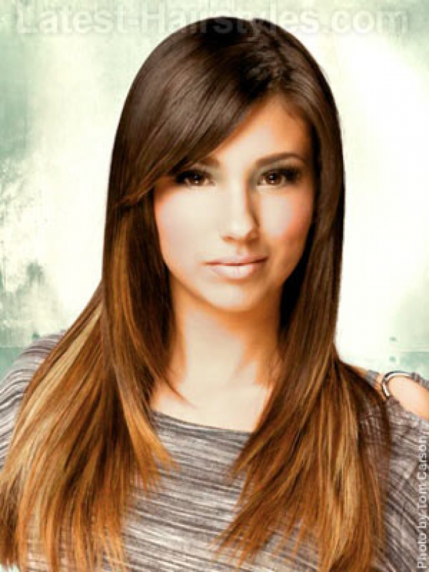 7 Long Layered Hair Styles With Bangs in Hair Style