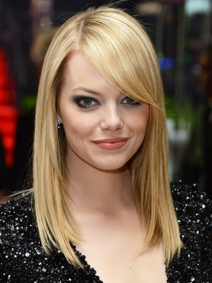 Hair Style , 7 Beautiful Side Bang Styles For Long Hair : Hairstyles With Bangs