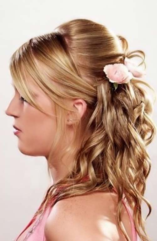 7 Beautiful Homecoming Hair Styles For Long Hair in Hair Style