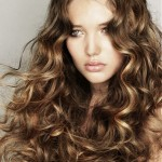 medium hairstyles , 6 Wonderful Long Hair Perm Styles In Hair Style Category