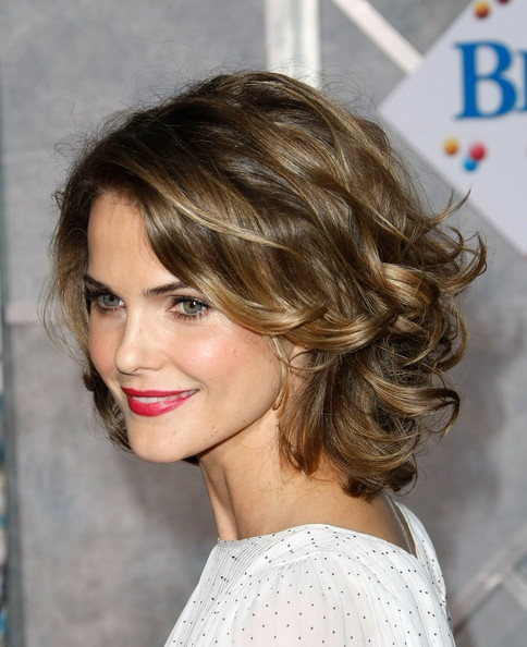 6 Nice Short hairstyles for thick wavy hair : Woman Fashion ...