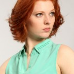 short haircut with feathered , 8 Beautiful Short Feathered Hairstyles In Hair Style Category