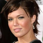 short hairstyles for round faces , 6 Best Short Hairstyles For Round Faces And Thick Hair In Hair Style Category