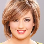 short hairstyles , 8 Beautiful Short Hairstyles For Round Faces And Thin Hair In Hair Style Category