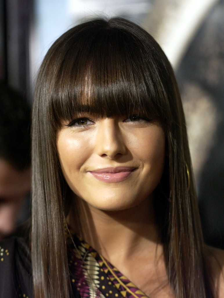 Hair Style , 6 Hottest Bang Styles For Long Hair : Style Long Hair With Bangs