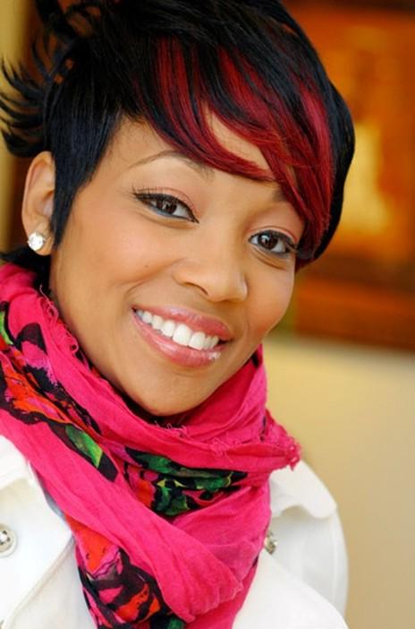 monica short hairstyles 2014 2013 short hairstyles for black women woman fashion