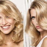 Blonde Color of Medium Length Haircuts , 6 Wonderful Hair Styling Ideas For Medium Length Hair In Hair Style Category